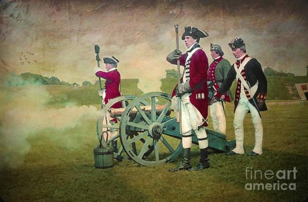 Re-enactment Wall Art - Digital Art - Old Fort Niagara by Lianne Schneider