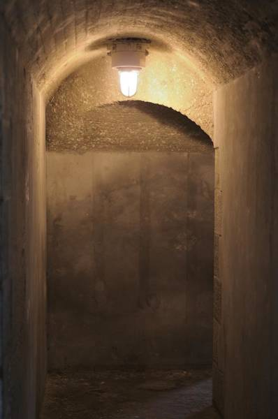Photograph - Old Fort Passageway by Bradford Martin