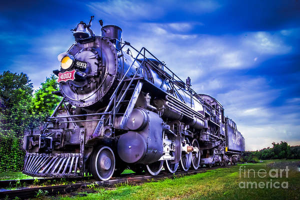 Photograph - Old Fort Train by Larry McMahon