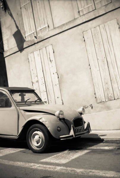 Photograph - Old French Car by Matthew Pace