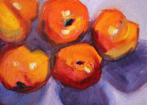 Food Groups Painting - Old Friends by Nancy Merkle