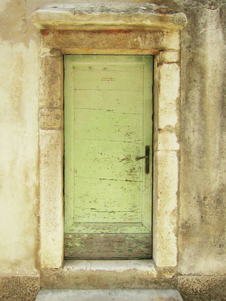 Damaged Photograph - Old Front Door by 1stgallery