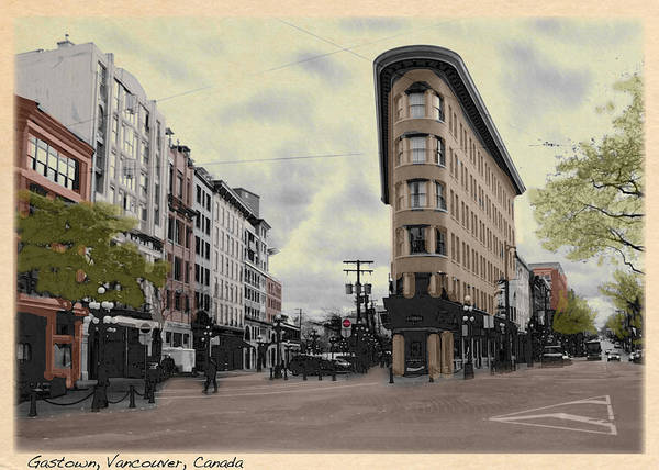 Photograph - Old Gastown by Doug Matthews