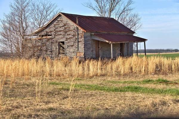 Photograph - Old Georgia Cabin by Gordon Elwell