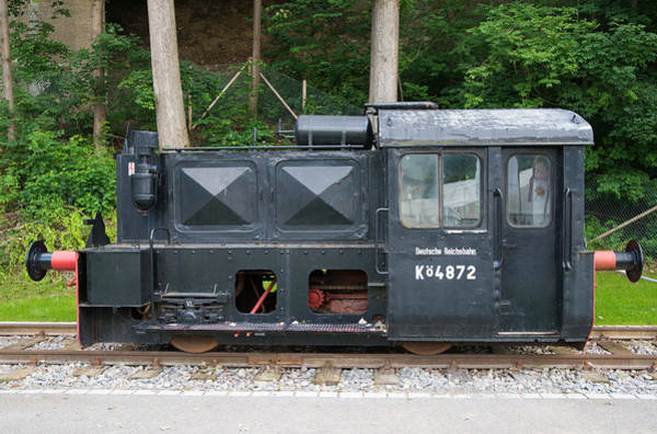 Photograph - Old German Railway Locomotive by Matthias Hauser