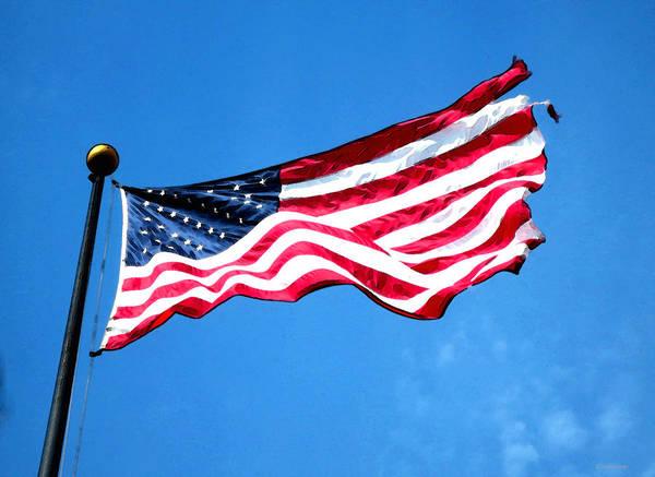 Old Glory - American Flag By Sharon Cummings Art Print