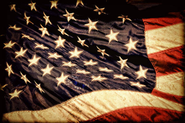 Photograph - Old Glory Perseveres by Lincoln Rogers