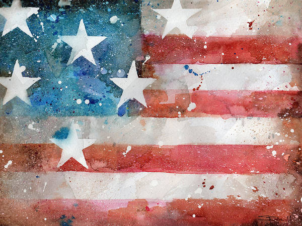 Painting - Old Glory by Sean Parnell