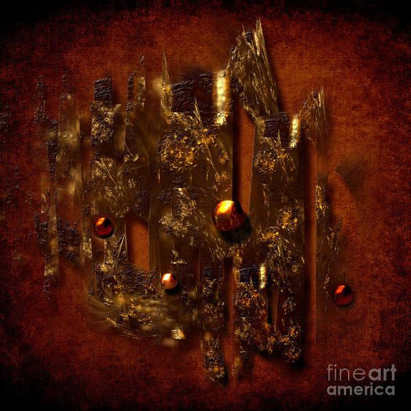 Digital Art - Oldgold by Alexa Szlavics