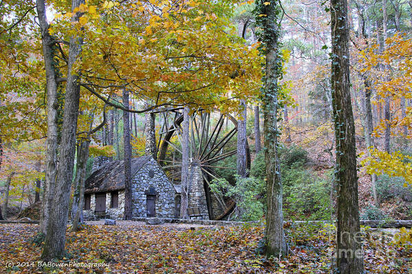 Photograph - Old Grist Mill 3 by Barbara Bowen