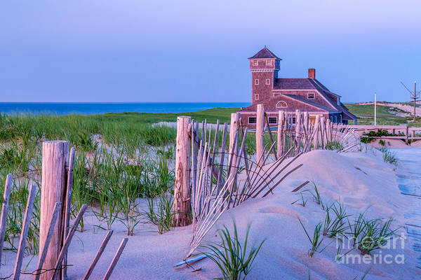 Photograph - Old Harbor Lifesaving Station by Susan Cole Kelly