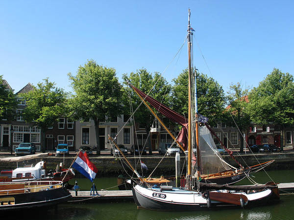 Photograph - Old Harbour Of Zierikzee  by Gerry Bates