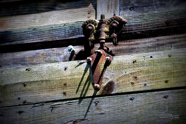 Photograph - Old Hardware by Ludwig Keck