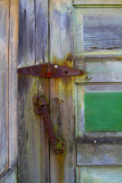 Hinges Photograph - Old Hinge Spring by Rebecca Cozart