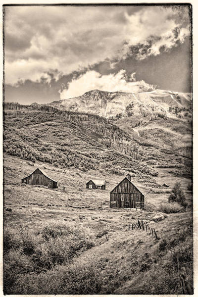 Photograph - Old Homestead by Rick Wicker