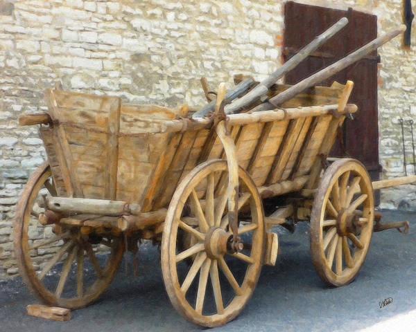 Painting - Old Horse Cart by Dean Wittle