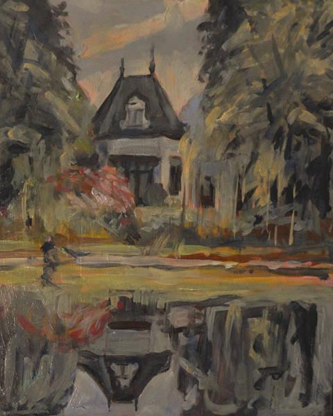 Old House Along The Bredaseweg Art Print