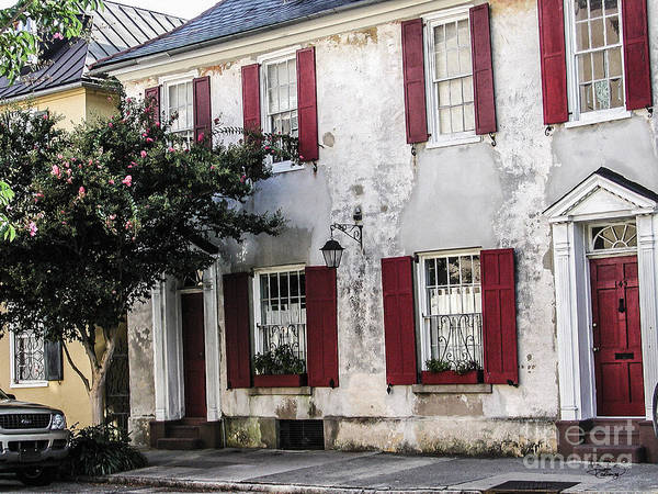 Photograph - Old House In Charleston South Carolina by Ginette Callaway