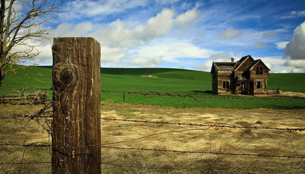 Wall Art - Photograph - Old House In The Meadow by Steve McKinzie
