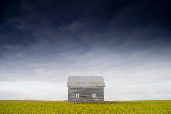 Abandonment Photograph - Old House, Manitoba, Canada by Mirek Weichsel