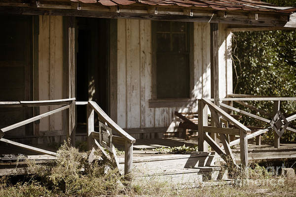 Photograph - Old House With Porch In Color 3000.02 by M K Miller