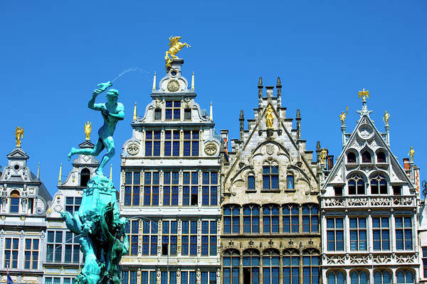 Antwerp Photograph - Old Houses In Antwerp by Visions Of Our Land