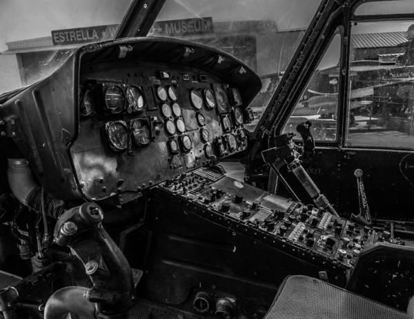 Chopper Photograph - Old Huey by Thomas Hall