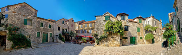 Starigrad Photograph - Old Hvar Island Stone Town by Brch Photography