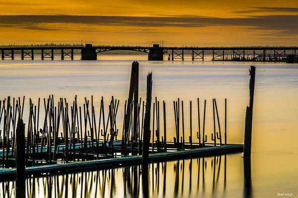 Astoria Bridge Photograph - Old Hwy. 101 Bridge by Paul Haist
