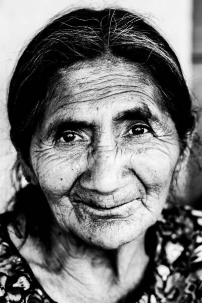 Photograph - Abuelita by Parker Cunningham