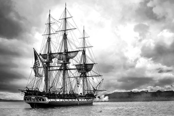 Sailors Digital Art - Old Ironsides by Peter Chilelli