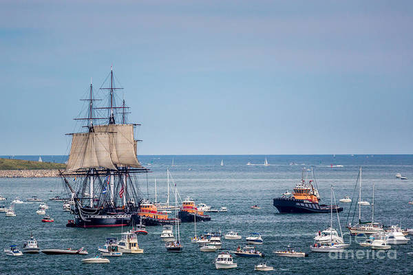 Photograph - Old Ironsides Sail by Susan Cole Kelly