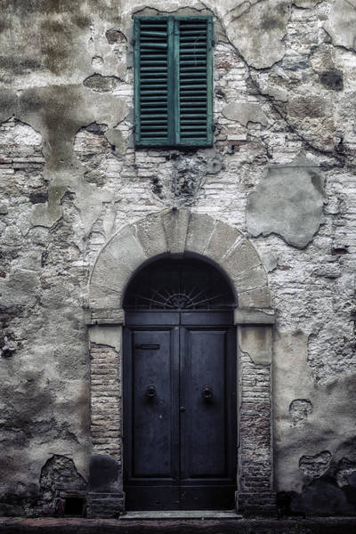 Shutter Photograph - Old Italian House by Joana Kruse