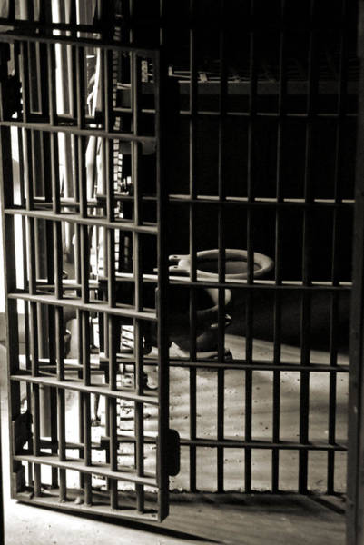 Toilet Photograph - Old Jail Cell by Wayne Archer