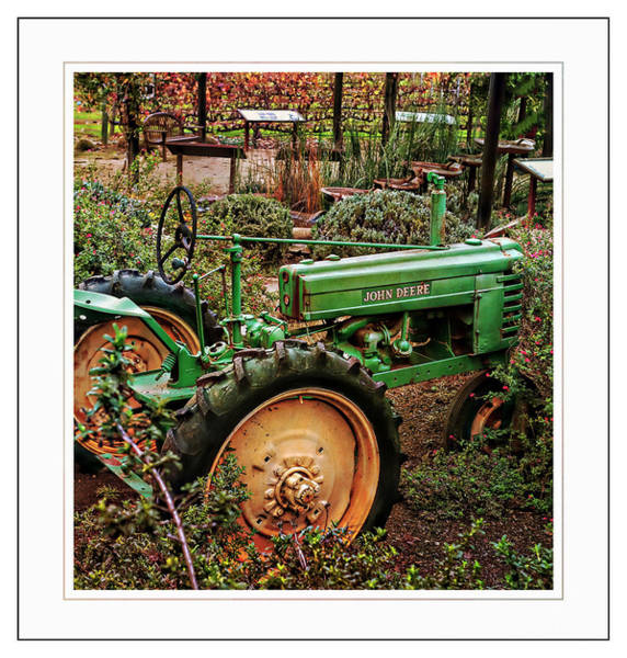 Photograph - Old John Deere by Michael Hope