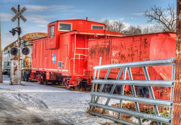 Liane Photograph - Old Kansas Rails by Liane Wright