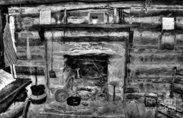 Photograph - Old Kitchen by Doc Braham