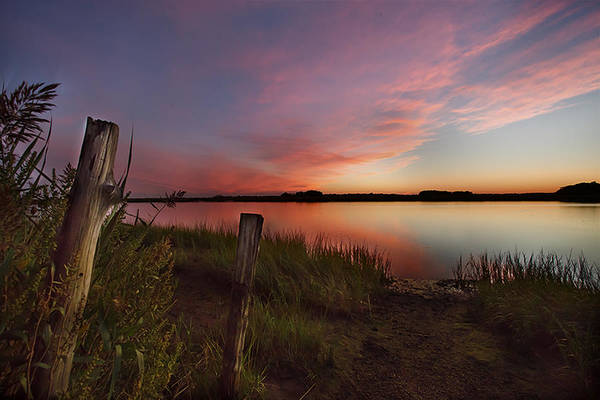 Conn Wall Art - Photograph - Old Lyme Sunset by Jonathan Steele