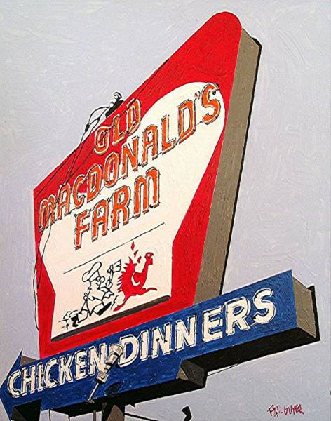 Old Macdonalds Farm Art Print by Paul Guyer