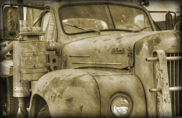 Mack Photograph - Old Mack by Ricky Barnard