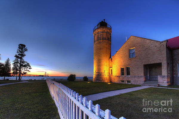Up North Wall Art - Photograph - Old Mackinac Lighthouse by Twenty Two North Photography