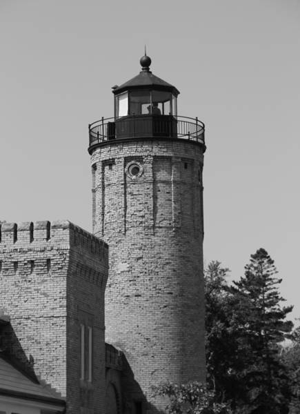 Michilimackinac Wall Art - Photograph - Old Mackinac Point Lighthouse by Dan Sproul