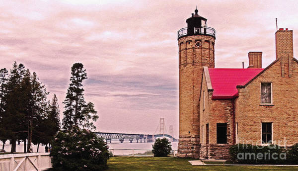 Foghorns Photograph - Old Mackinac Point Lighthouse by Lydia Holly