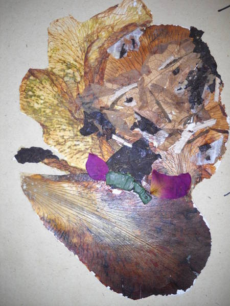 Eco Friendly Mixed Media - Old-man - Abstract  by Basant Soni