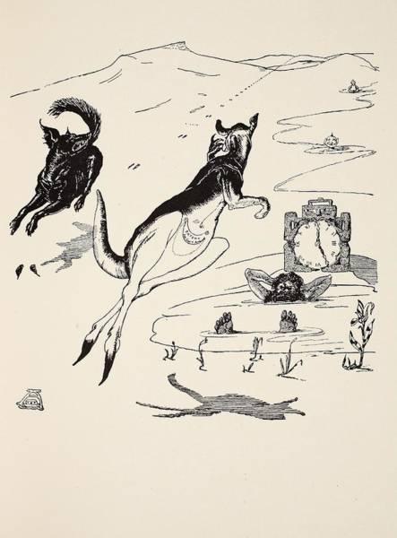 Kangaroo Drawing - Old Man Kangaroo At Five by Rudyard Kipling