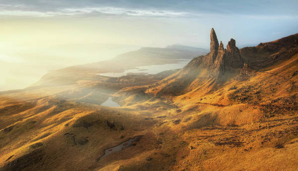 Bell Rock Photograph - Old Man Of Storr by Kristian Bell