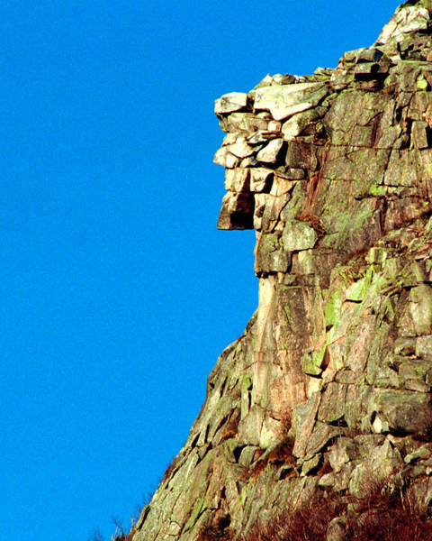 Photograph - Old Man Of The Mountain by Ken Stampfer