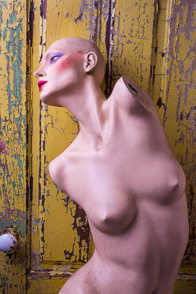 Mannequins Photograph - Old Mannequin by Garry Gay