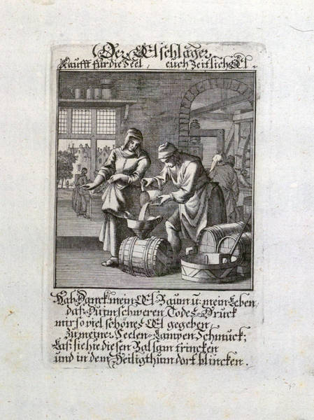 Old Style Drawing - Old Master Print, 17th Century, 1600s, 1700s by English School