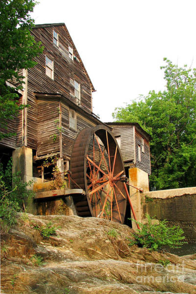 Photograph - Old Mill by Teri Brown